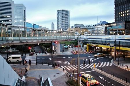 東京モノレール 浜松町駅2016年1...